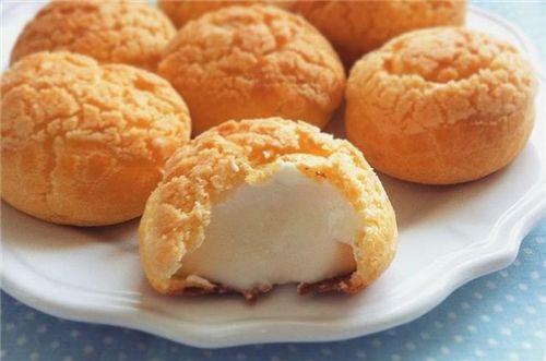 菠萝酥皮泡芙制作方法及配方
